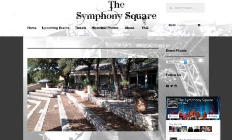 Symphony Square Website